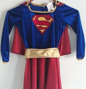 Girl's Super Woman Super Hero Dress Up Costume
